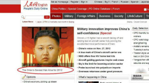 Chinese Official People's Daily Reports as Serious the Onion's Spoof Naming Kim Jong Un 'Sexiest Man Alive'