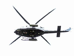 Black Government Helicopters Zoom Low Over Washington D.C. to Protect Against Terrorist Dirty Nuclear Bomb
