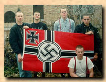 North Korea is a model of a racially pure state for many white power skinheads
