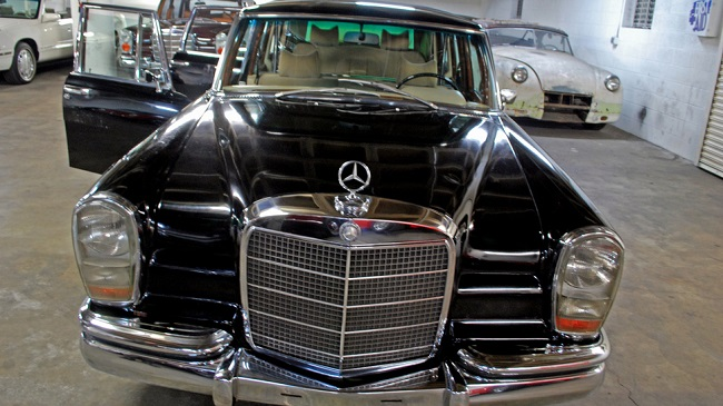 The Mercedes Benz 600 limousine owned by Saddam Hussein