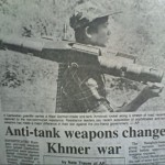 New covert anti-tank weapons supplied to the guerrillas used for the first time this day which were responsible for the destruction of 8 government tanks and capturing towns and vehicles as government soldiers fled in fear of the new superior firepower