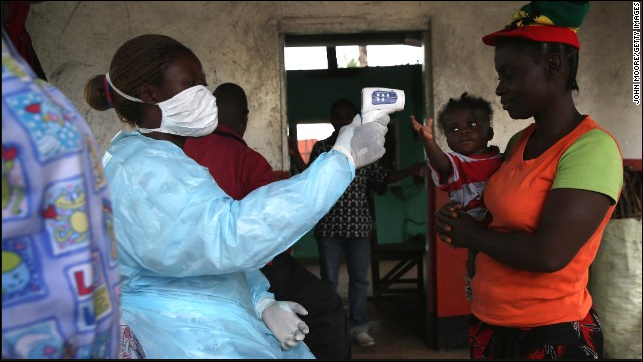 Fake Ebola detector in use in Liberia