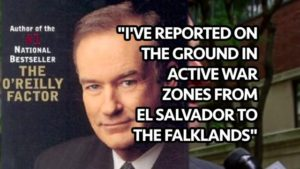 Combat war reporter Bill O'Reilly, Fox News, & Lies: How they abuse women & journalism