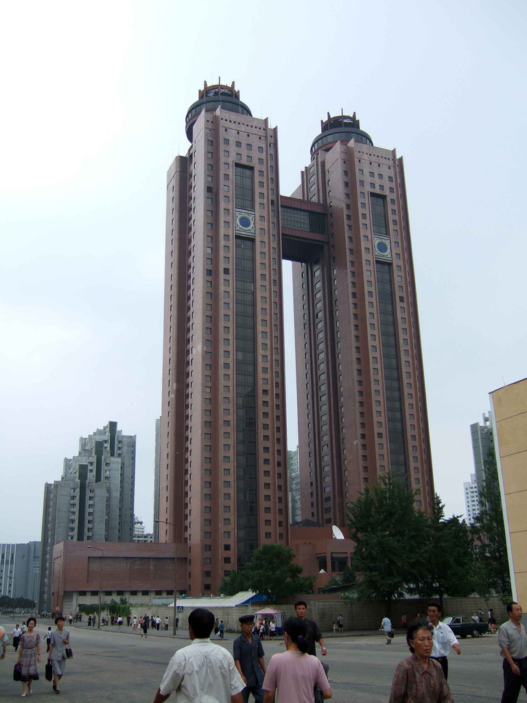 The Koryo hotel. Pyongyang, North Korea