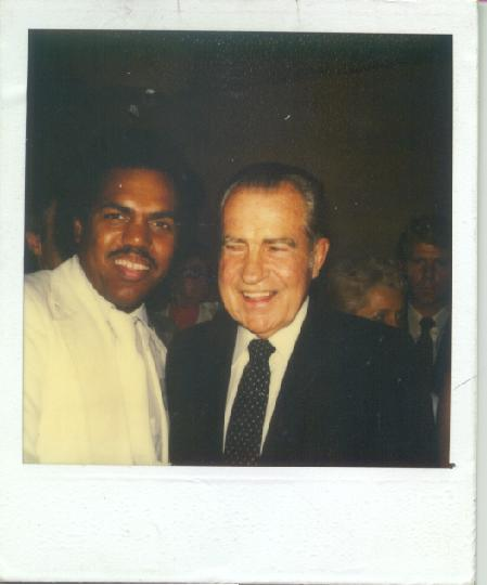 Daryl Davis with Richard Nixon