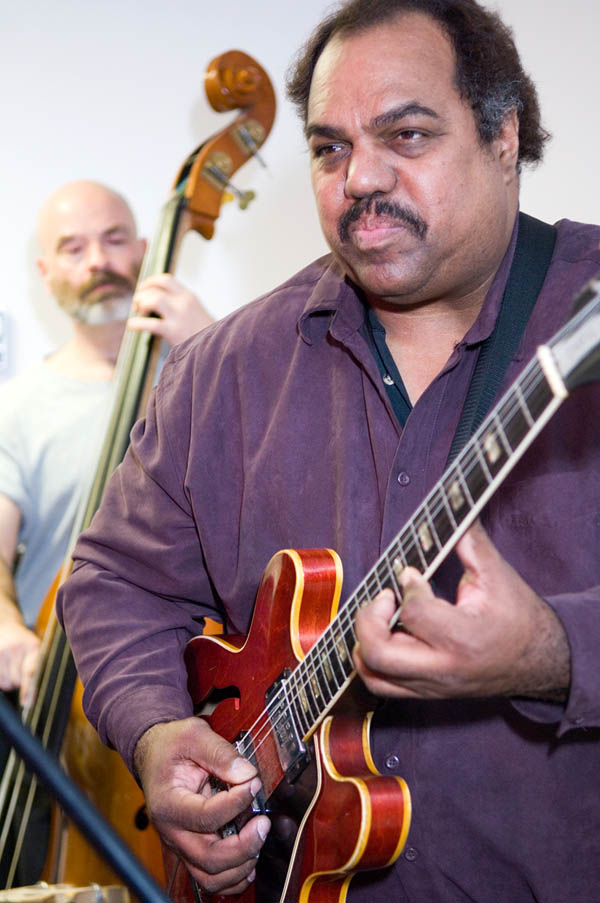 Daryl Davis on guitar.