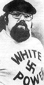 Harold Covington of Northwest Front when he was head of the National Socialist White Peoples Party