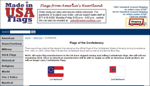 China Manufacturers Whistling Dixie Over Surge in Confederate Flag Sales