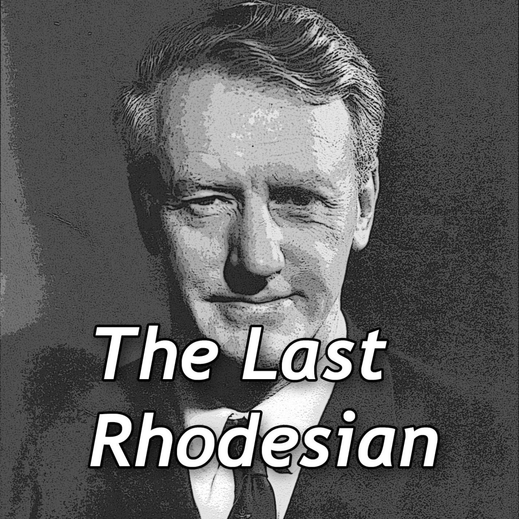 The Last Rhodesian--a book an audio tape with photo of white ruler Ian Smith