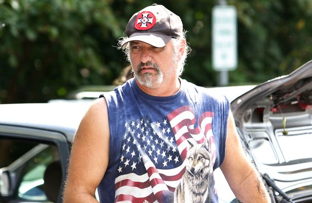 Richard Preston, Imperial Wizard of the Maryland-based Confederate White Knights of the KKK