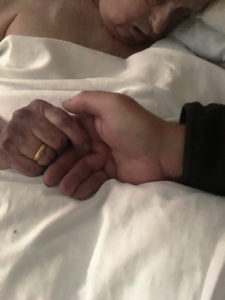 Thoughts on dying: My father died a beautiful death today