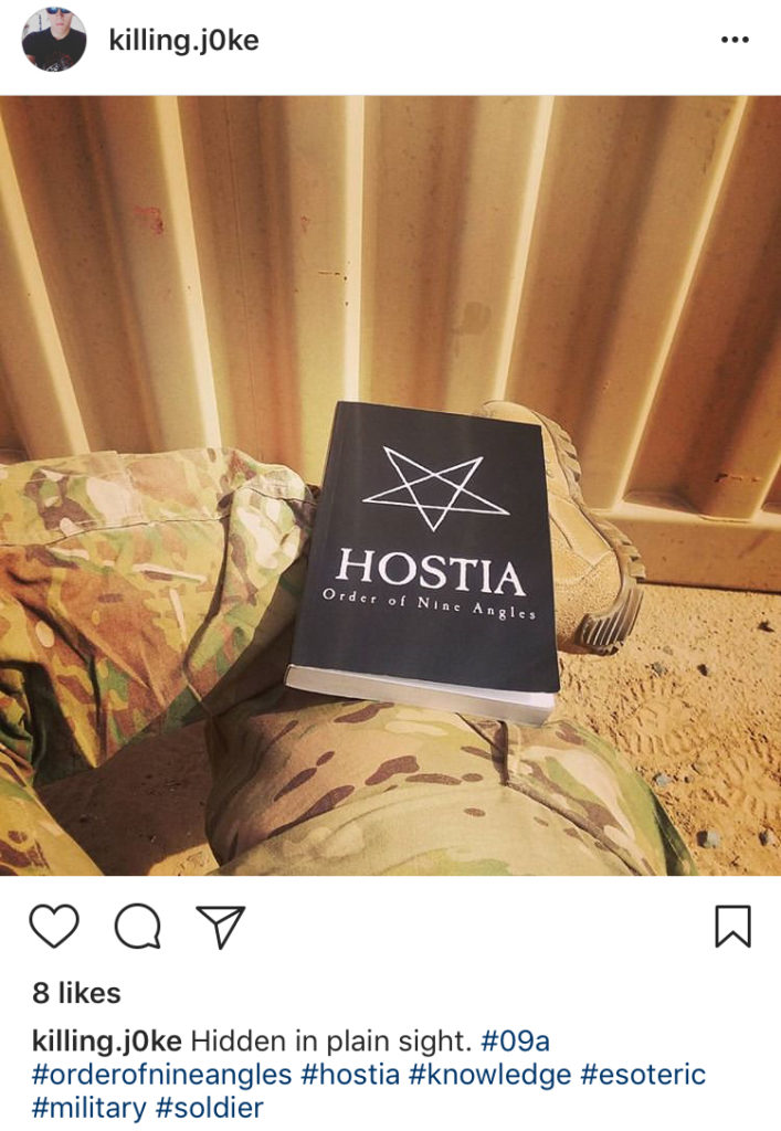 U S  Soldiers Uncovered in Atomwaffen Division Satanic Nazi Death