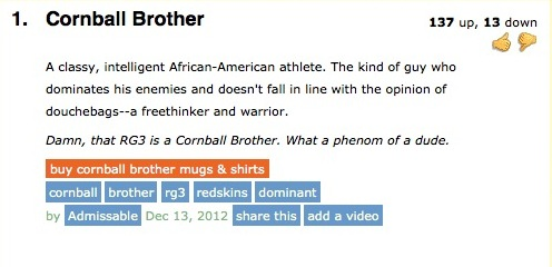 """New Urban Dictionary Entry for """"Cornball Brother"""""""