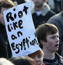 riot like an egyptian
