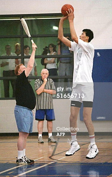 North Korean Michael Ri in Training with Bronx Born American legendary basketball coach jack Donahue in Canada in 1997