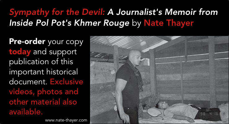 Pre-order sympathy for the devil book nate thayer