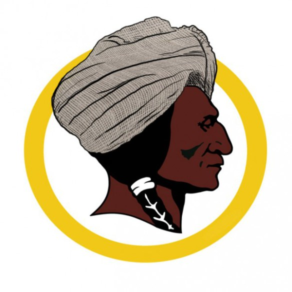 "One helpful suggestion for a new logo: ""The Washington Towel Head"""