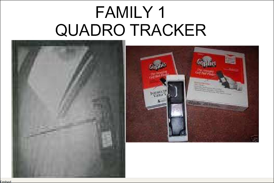 QUADRO TRACKER GOPHER FAMILY