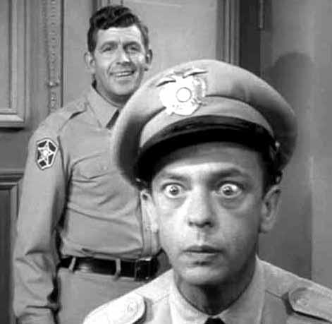 An Icon of the Good Cop: American national law enforcement hero, Barney Fife