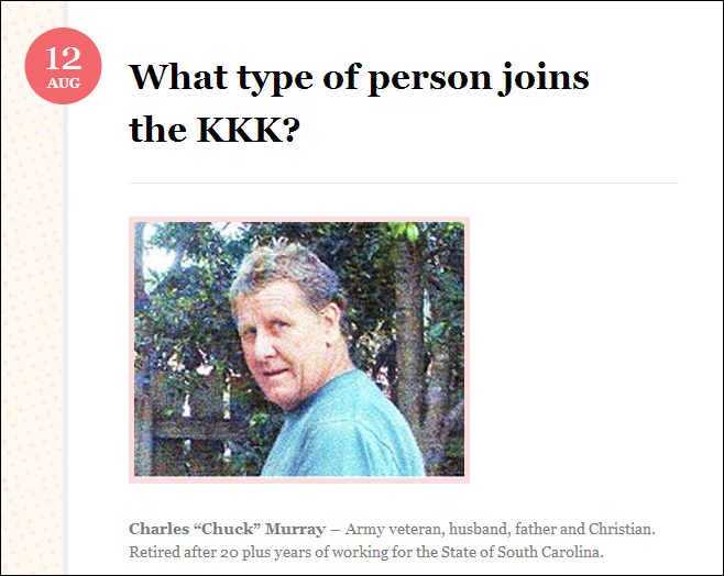 what type of person joins the KKK