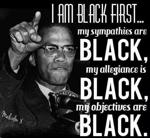 A post by Thompson of one of his ideological mentors, Malcolm X