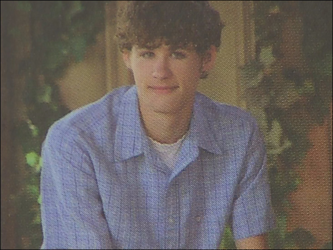 Mathew Todd Miller as a youth in Bakersfield, California