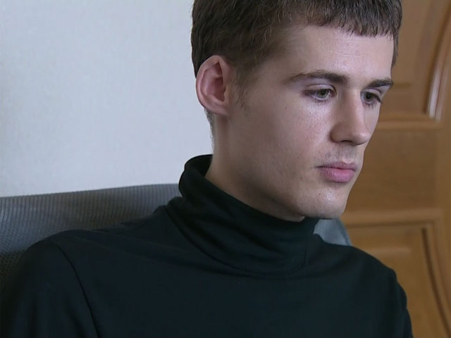 Matthew Miller while detained in Pyongyang