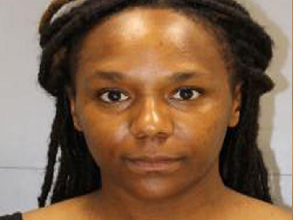"""Brittany 'Bree"""" Newsome, a trained classical pianist, in mugshot after being arrested fro removing the Confederate flag in South Carolina June 27, 2015"""