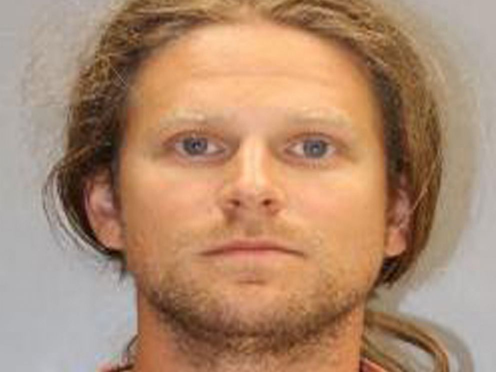 Mugshot of James Ian Tyson after being arrested in South Carolina June 27 for removing Confederate flag from near the state capitol building