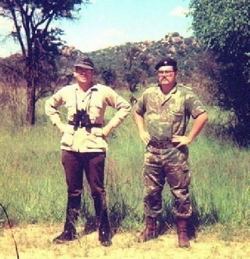 Northwest Front founder Covington in Rhodesia 1975