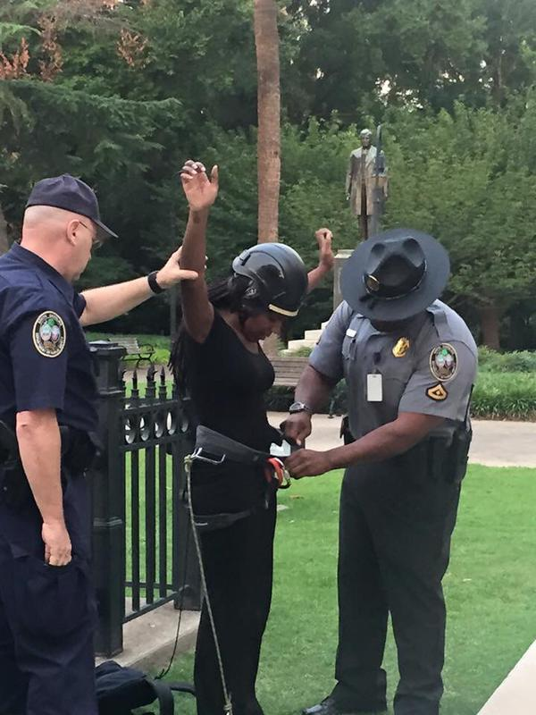 """Brittany """"Bree"""" Newsome under arrest in South Carolina today"""