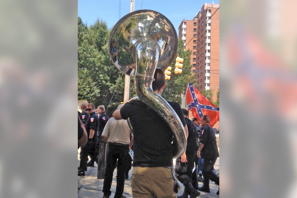 The South Carolina tuba player