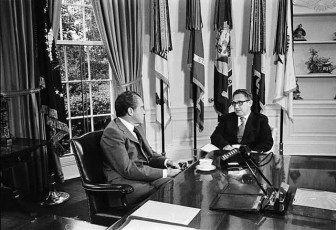 Henry Kissinger and Richard Nixon