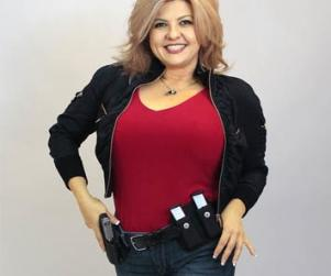 Fiore, the Nevada elected lawmaker, displaying her political assets