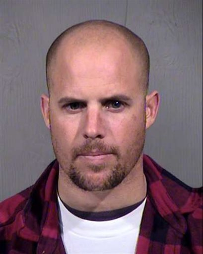 Jon Ritzheimer mugshot from Arrest in Arizona