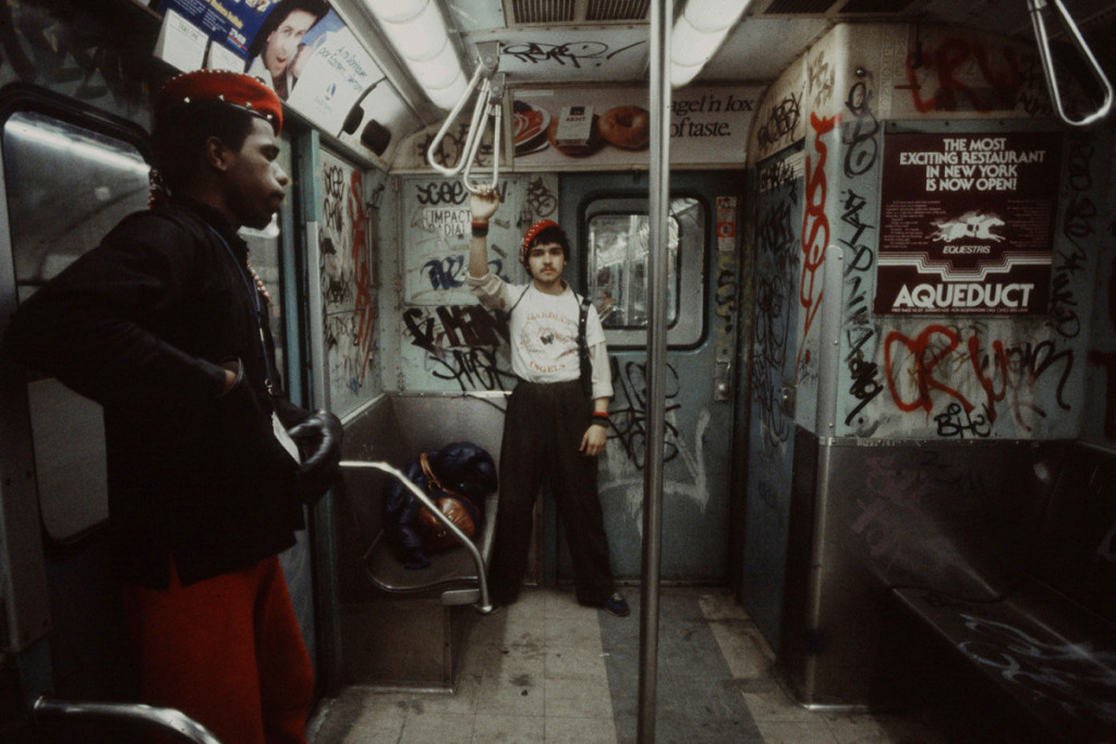 New York City subway: Photo Christopher Morris