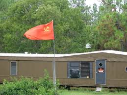 Sutter's South Carolina home where he flys the North Korean flag