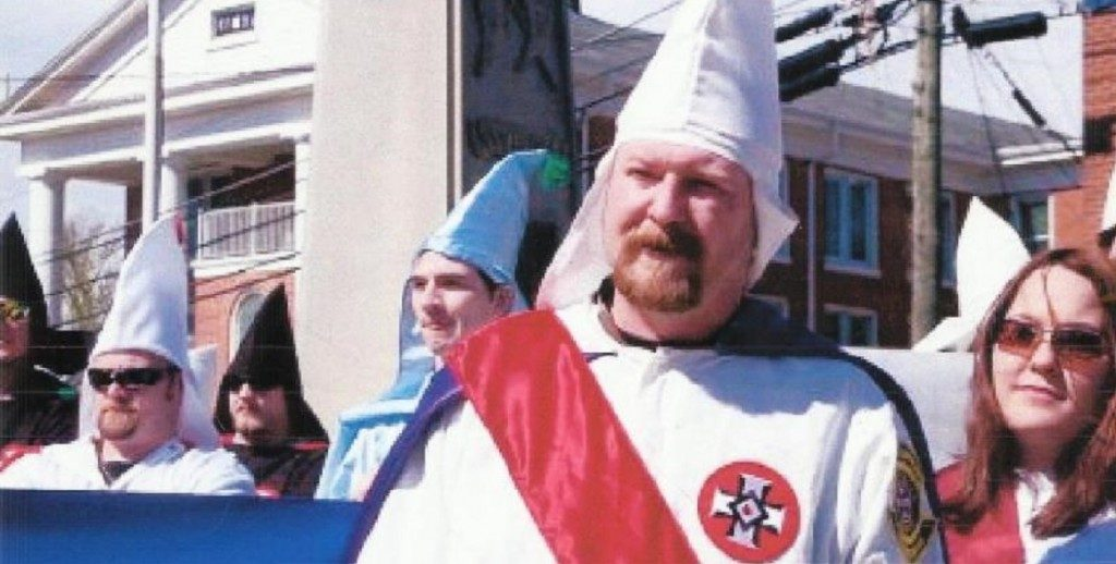 Loyal White Knights of the KKK Imperial Wizard Christopher Eugene Barker